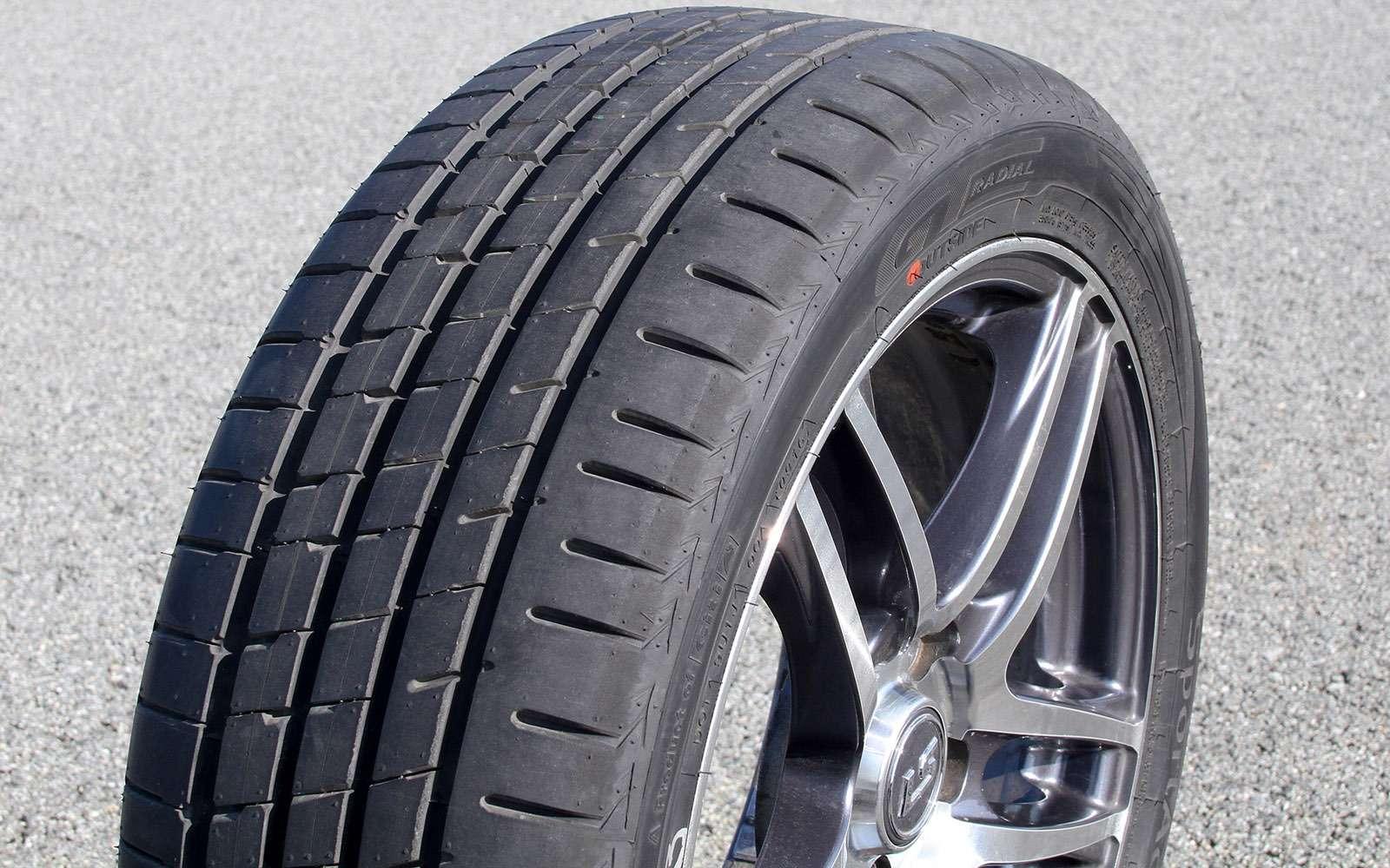 Летние шины 225/45R17: сравниваем 12комплектов— фото 725153