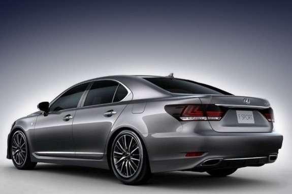 Lexus LSside-rear view
