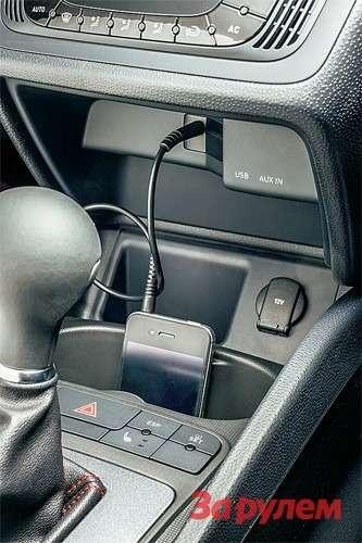 Завозможность подключить телефон или другое устройство через USB или «блютус» потребуется выложить 17550 рублей. Жаль, что столь простое ивостребованное оборудование обходится так дорого.