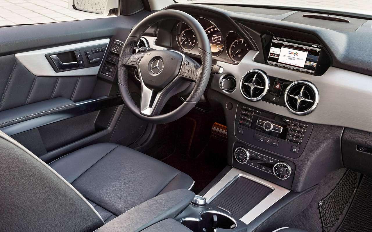 Подержанный Mercedes-Benz GLK— история болезни— фото 819167