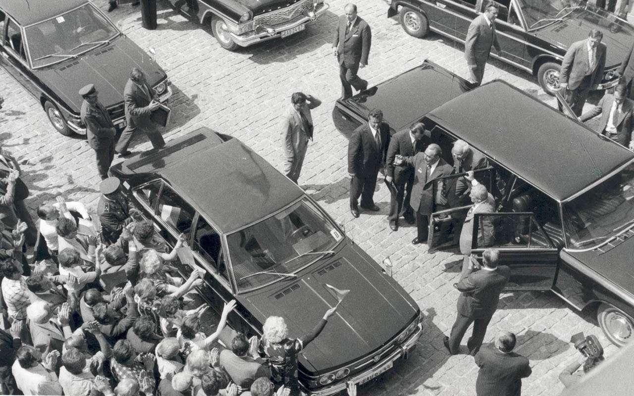 Начем ездили советские генсеки: отИльича доСергеича— фото 1035362