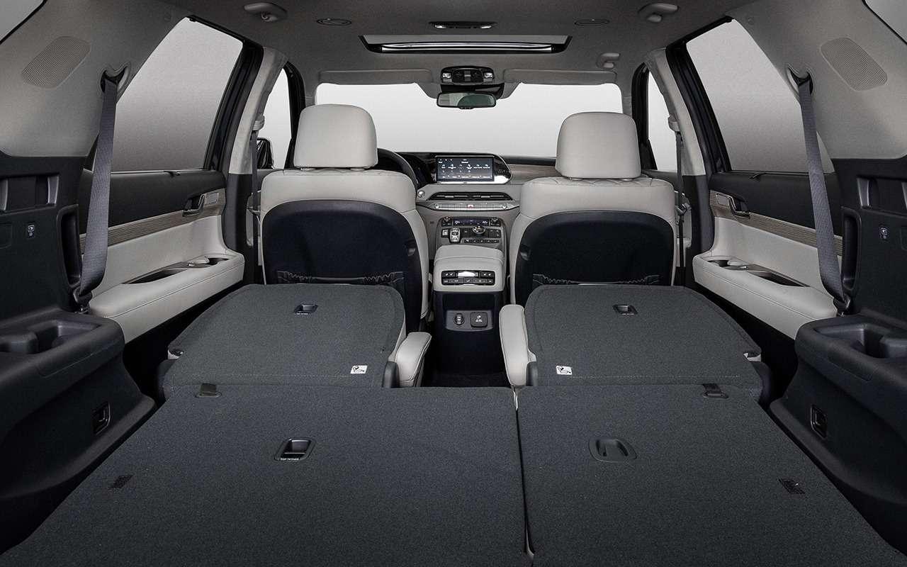 Hyundai Palisade: 3плюса, 2прокола имного места длядетей— фото 1221242