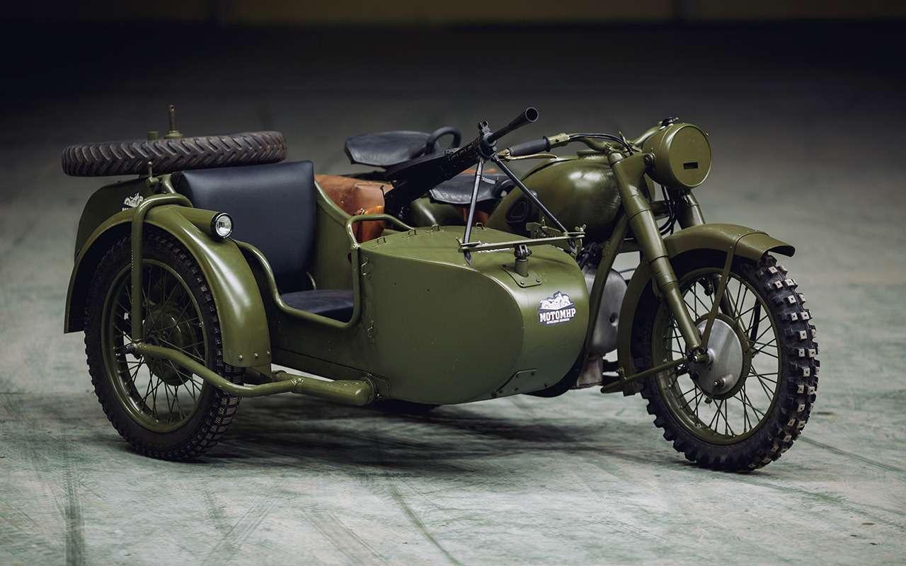 Лучший советский мотоцикл— неужели копия BMW?— фото 904547