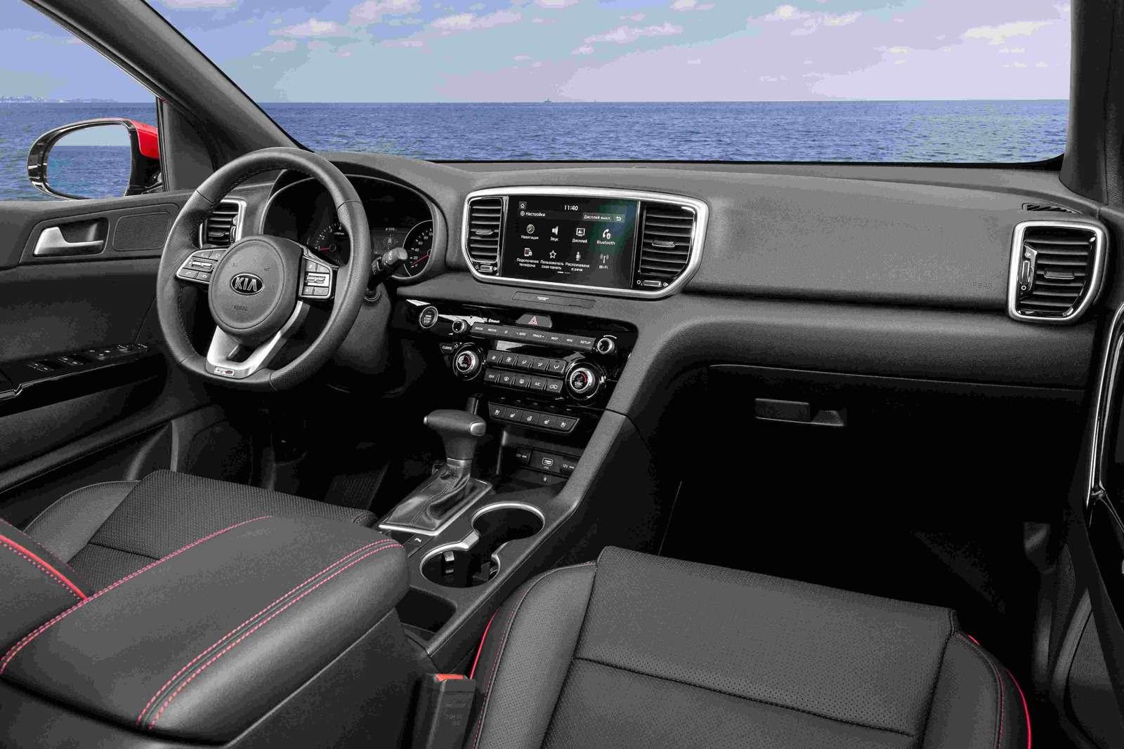 Обновленный Kia Sportage: цены икомплектации— фото 916497
