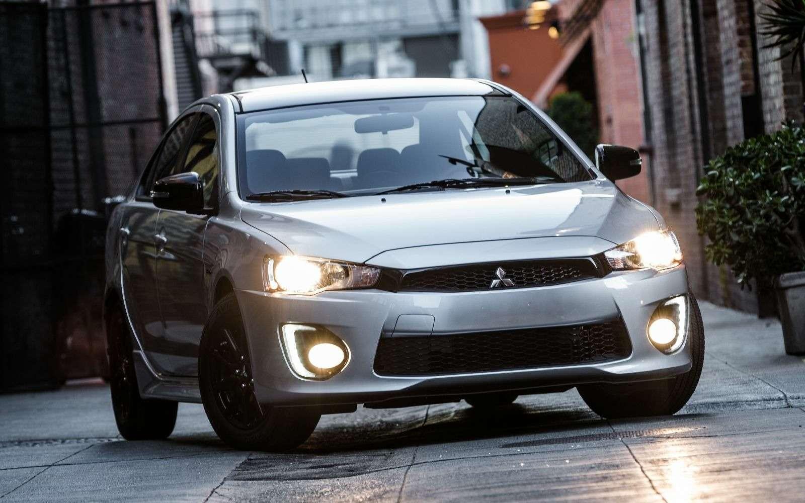 Mitsubishi Lancer Limited Edition: глянец дляветерана— фото 746600