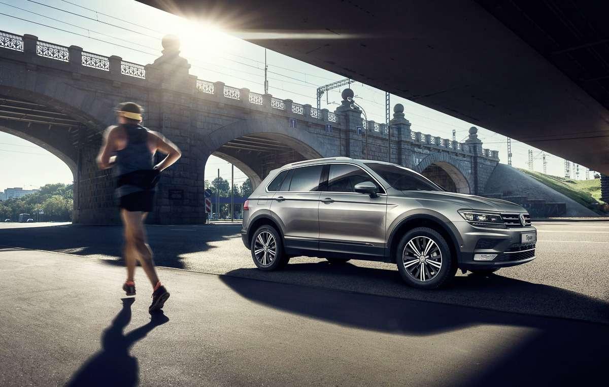 Новый Volkswagen Tiguan: названы цены икомплектации— фото 679340