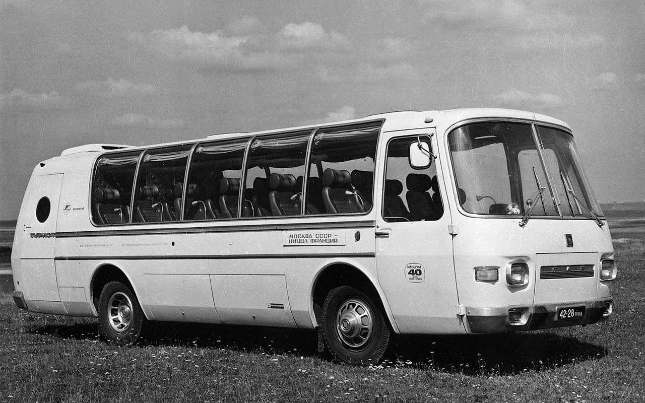 Автобусы изСССР— серийные иэкспериментальные— фото 1035346