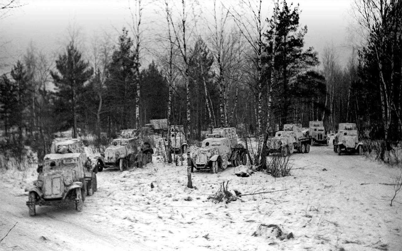 Машины Победы: ретротест настоящих фронтовых грузовиков— фото 1121584