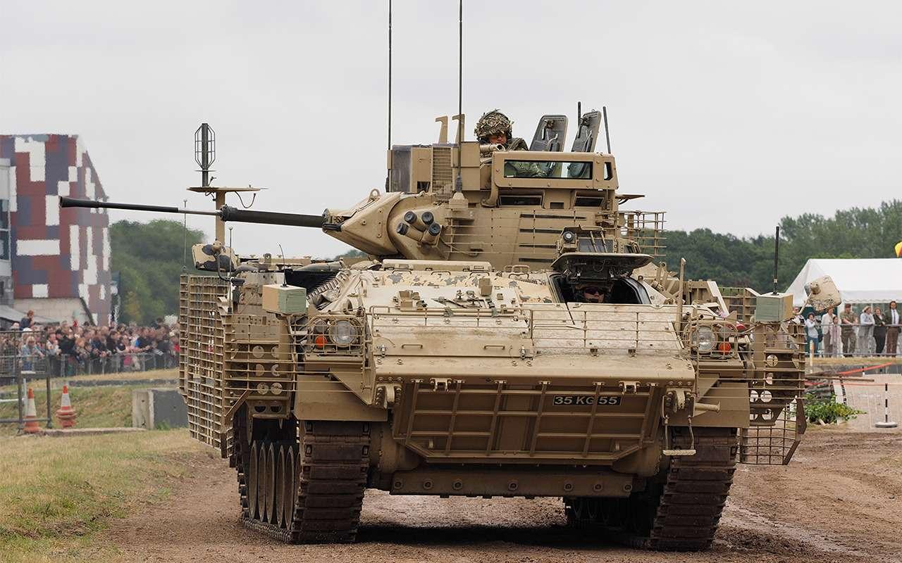 Наша БМП-3 против британского Warrior: артиллерийская дуэль— фото 857754