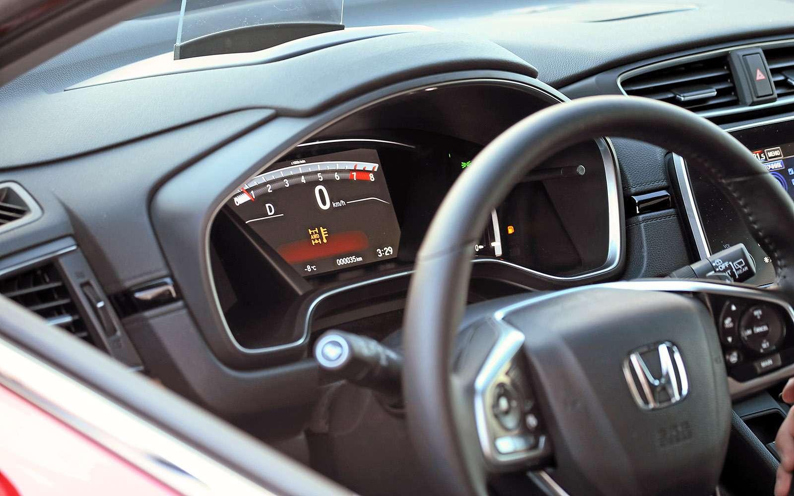 Заглядываем подюбку новой Хонде CR-V— фото 695113