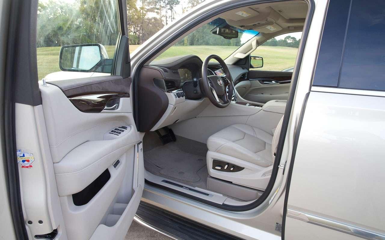 7 больших плюсов и5относительных минусов Cadillac Escalade— фото 984640