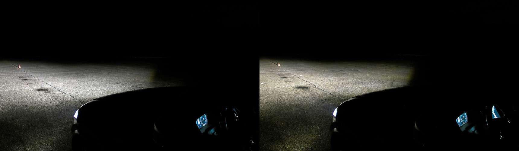Супертест светодиодных фар: какая из10машин заглянет дальше?— фото 601203