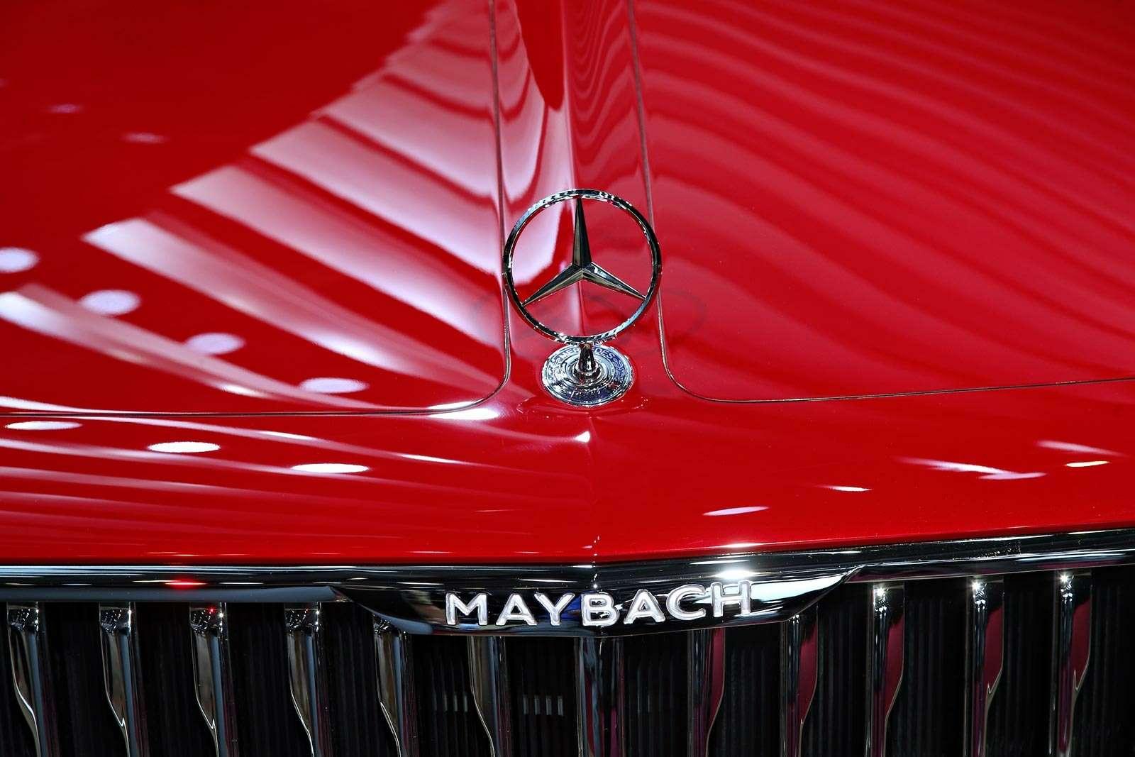 Самый красивый автомобиль Парижа: Vision Mercedes-Maybach 6завоевывает сердца— фото 643572