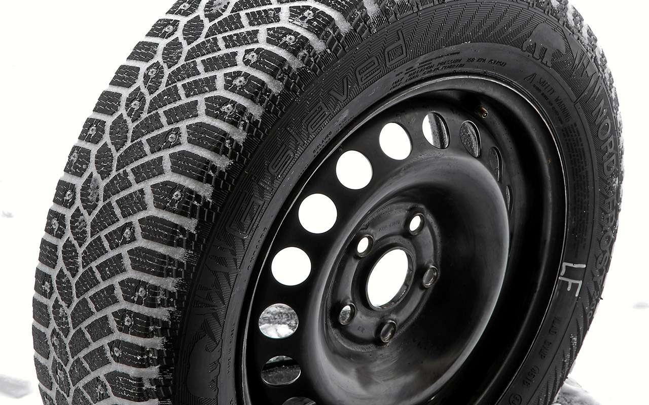 Шипованные шины 185/65R15для бюджетных автомобилей— тест «Зарулем»— фото 794349