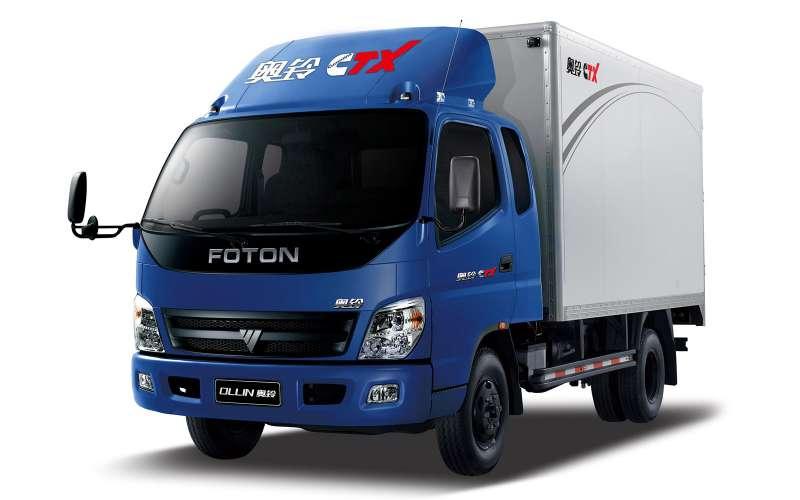 Foton Ollin— один измногих китайских грузовиков, продающихся вРоссии