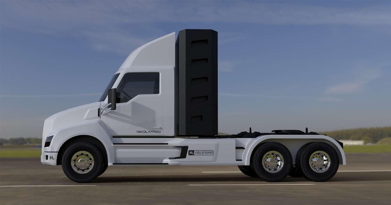 Воздушный замок: Nikola Motor сдержала слово иявила миру чудо-грузовик— фото 672504