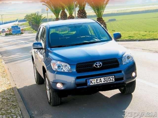Toyota RAV4. Свет вокошке— фото 62644