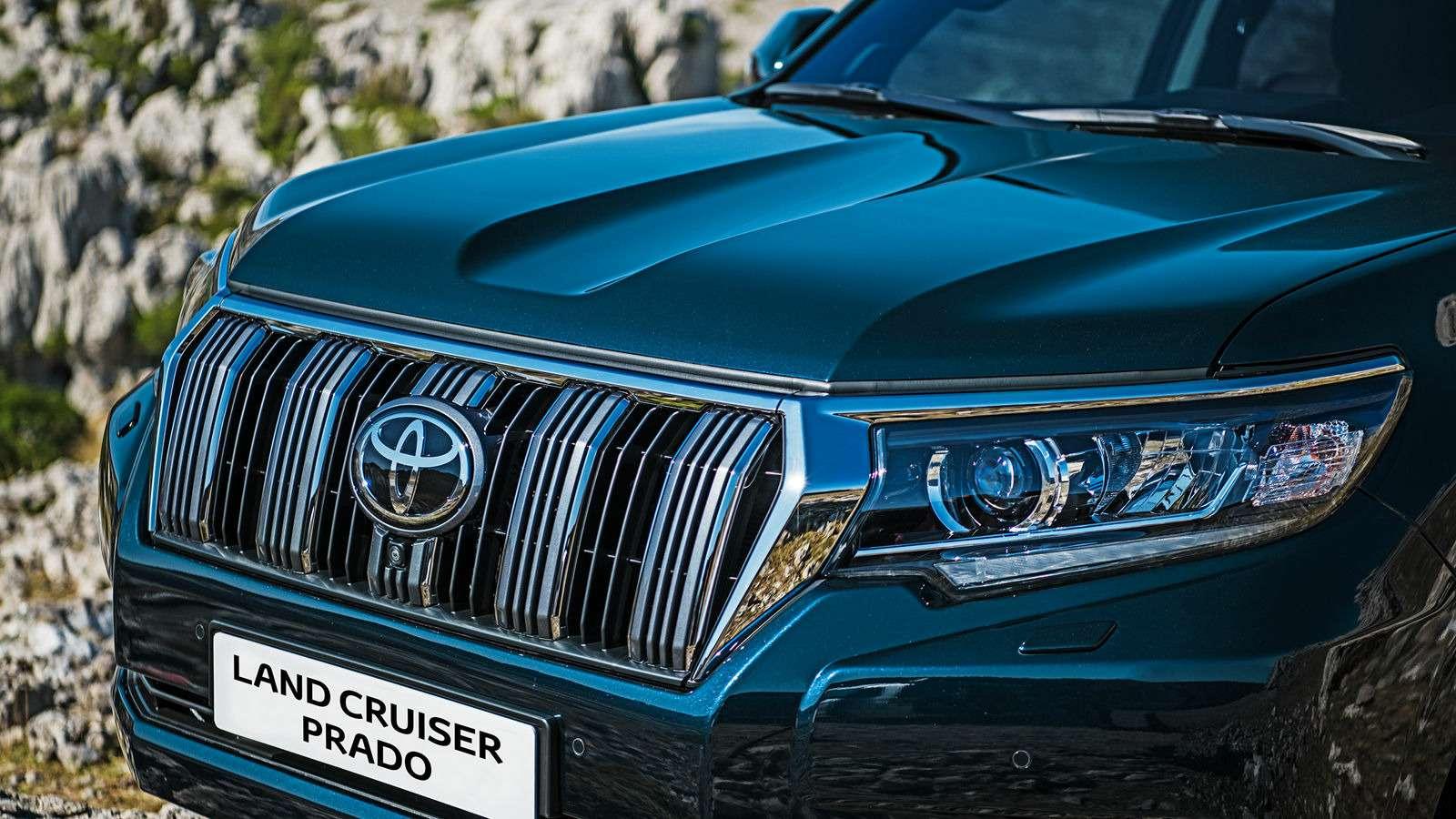 Обновленный Toyota Land Cruiser Prado подорожал: цены икомплектации— фото 806251