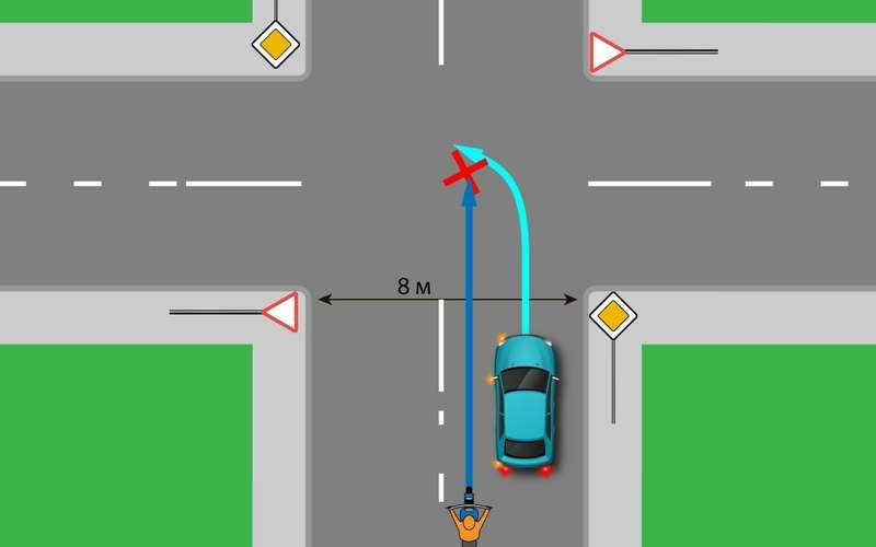 Наперекрестках женельзя обгонять?! Опасное заблуждение водителей