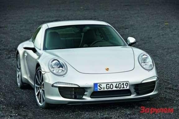 Porsche 911991 front view