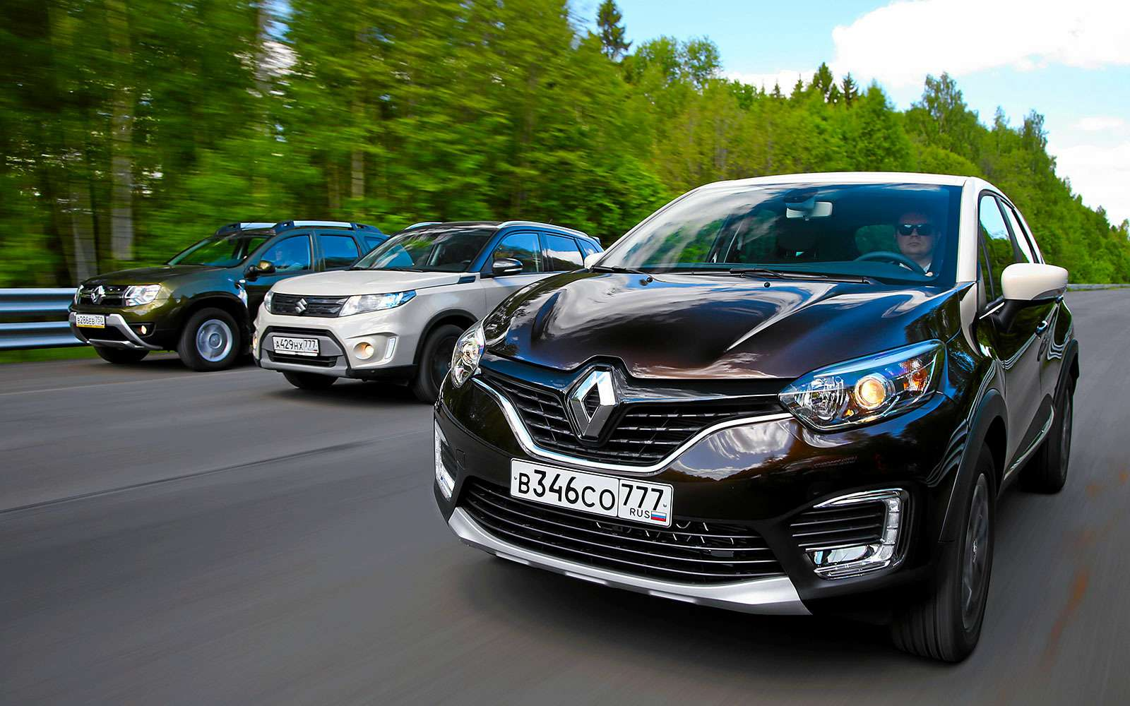 Renault Kaptur, Renault Duster, Suzuki Vitara: мода от-каптюр— фото 620030