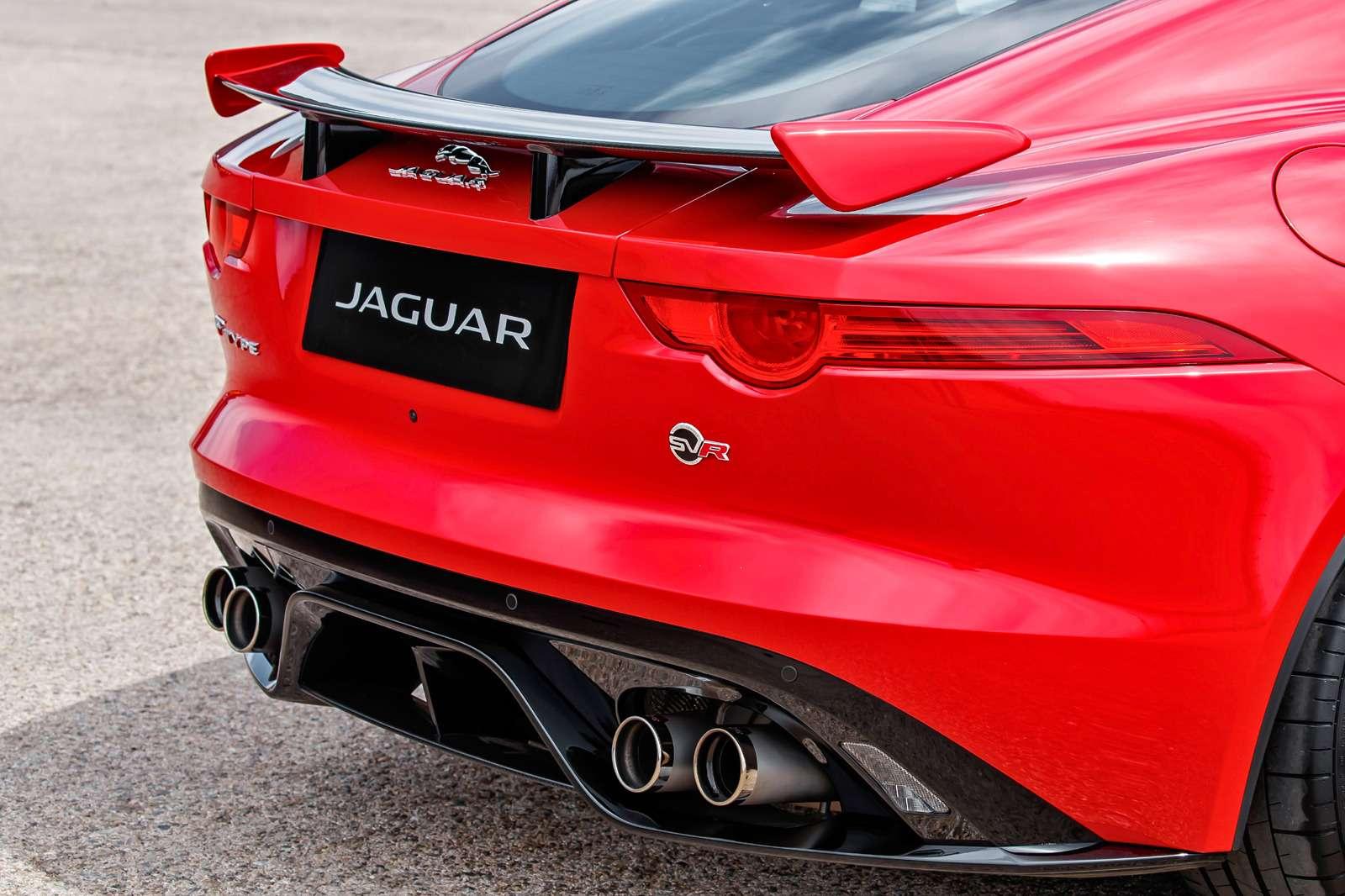 Jaguar F‑Type SVR