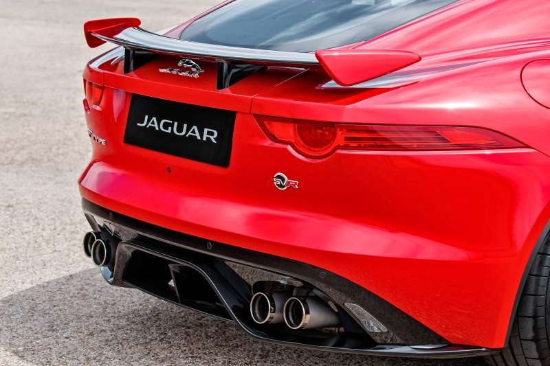 Jaguar F‑Type SVR Coupe: буря эмоций