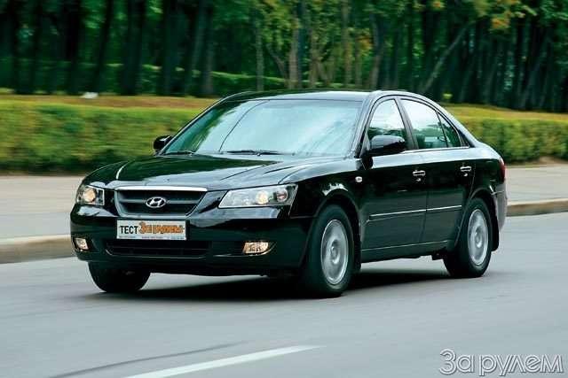 Hyundai NF, Hyundai Sonata. Налигу выше— фото 59055