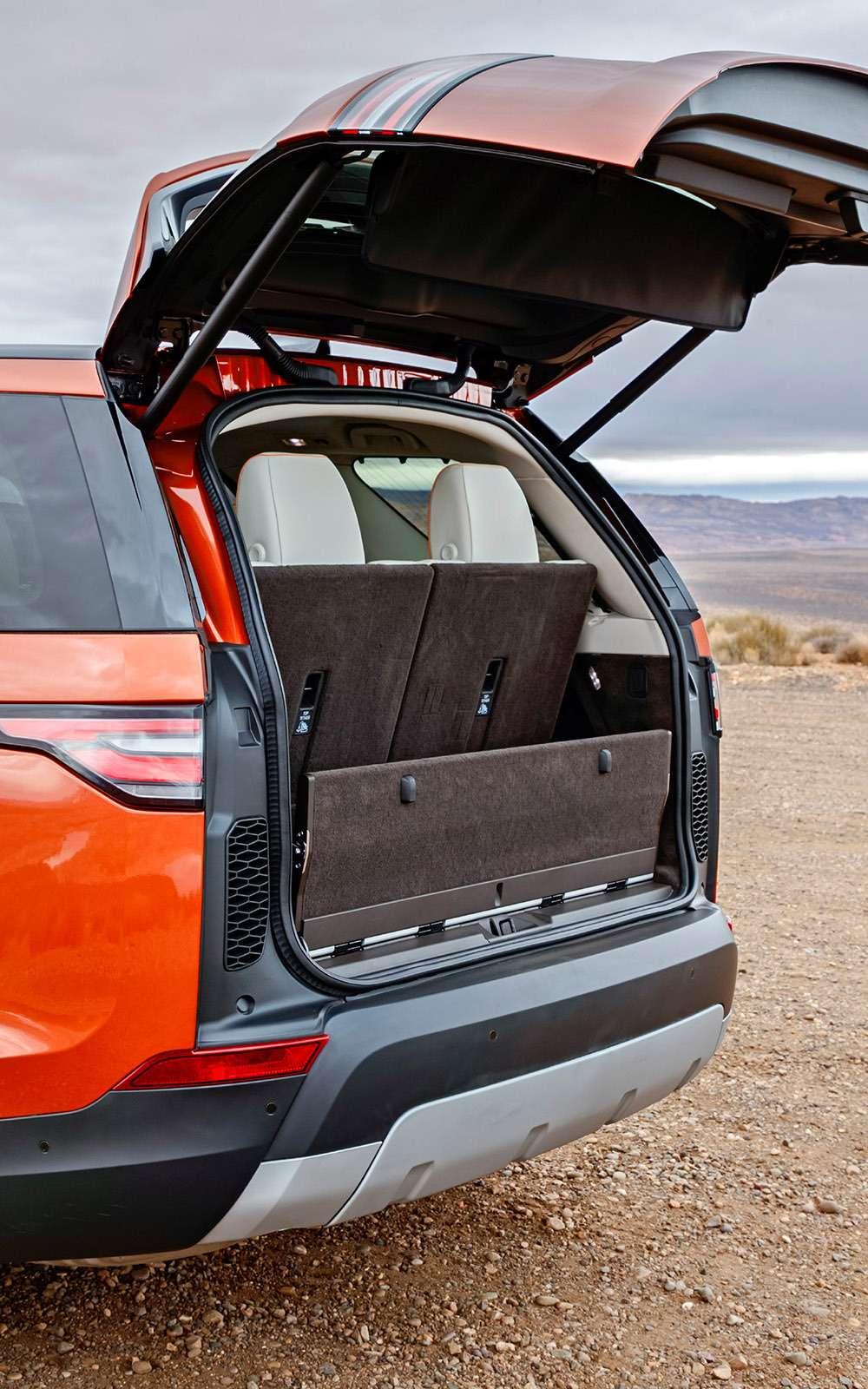 Новый Land Rover Discovery: первый тест— фото 736880