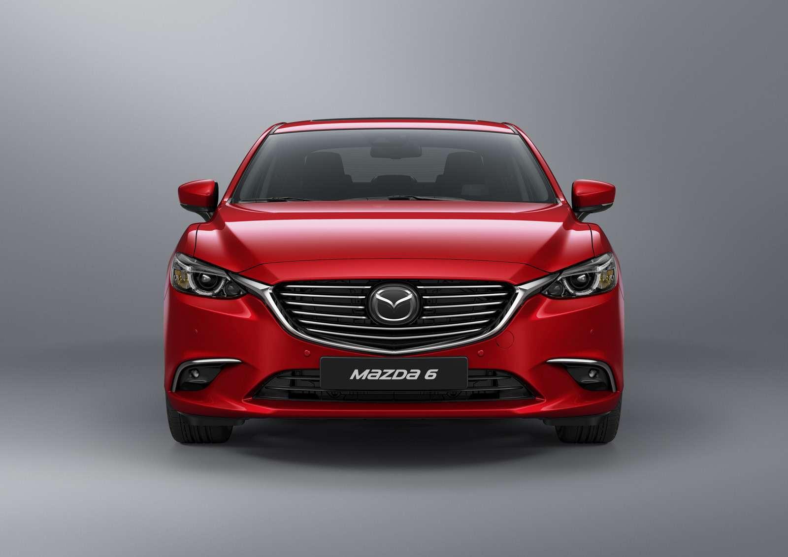 Обновленная Mazda 6выходит нароссийский рынок— фото 637729