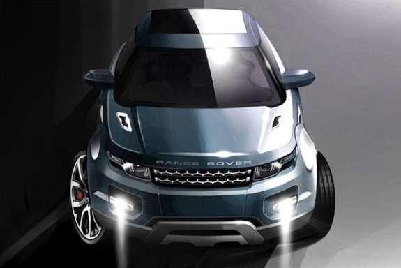 Range Rover Grand Evoque sketch