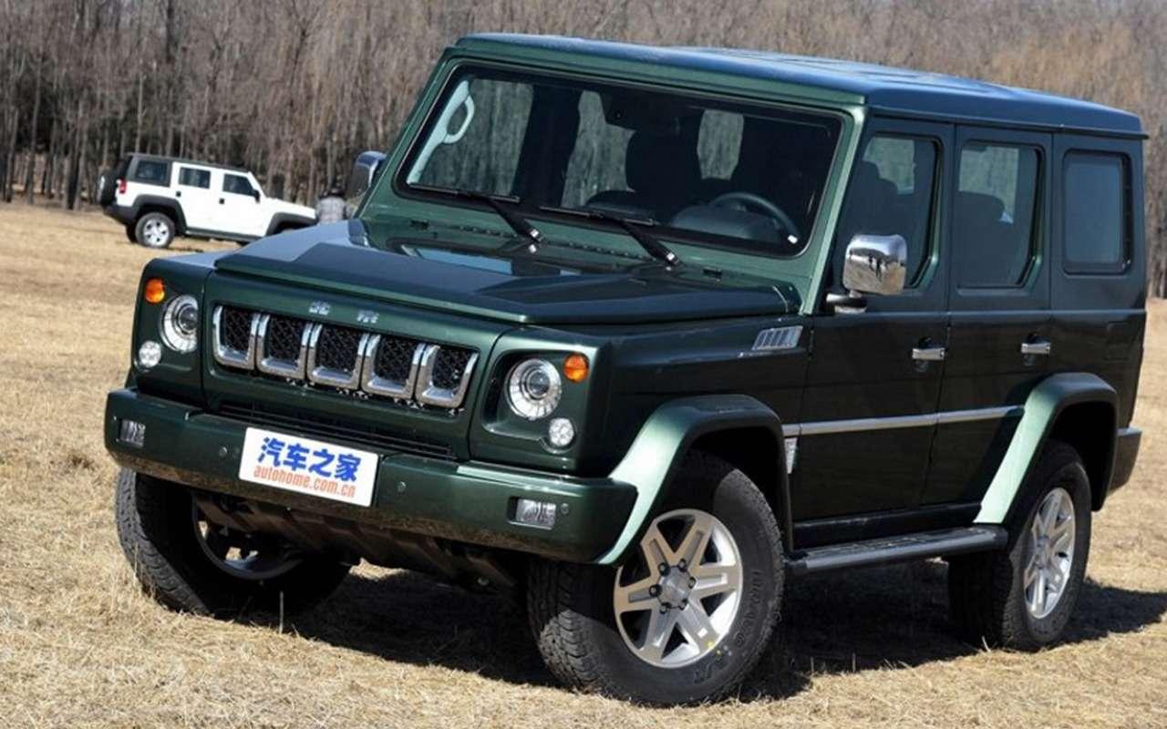 Этибессовестные китайцы: автомобили-клоны— фото 1035135