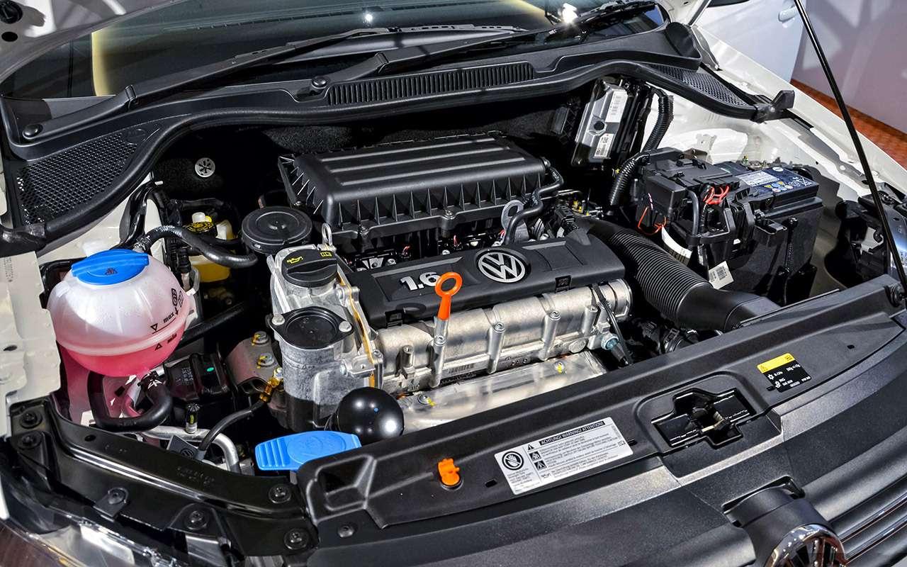 Volkswagen Polo Sedan спробегом: полный список проблем— фото 976724
