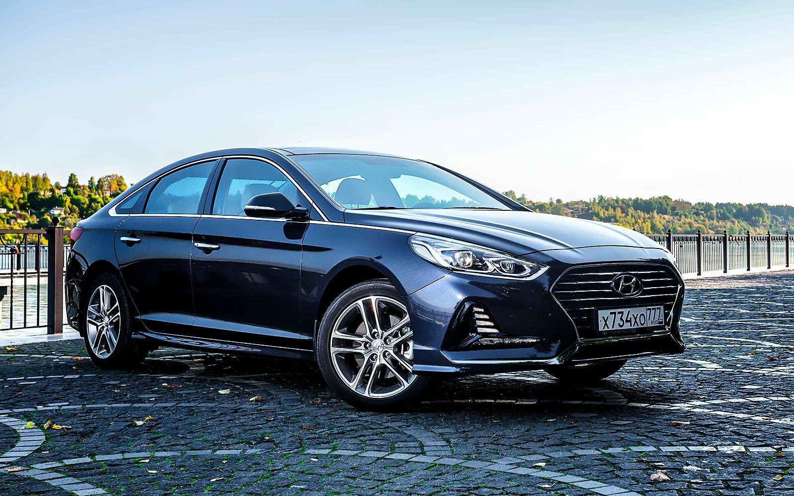 Hyundai Sonata или Toyota Camry— выбор ЗР— фото 809997