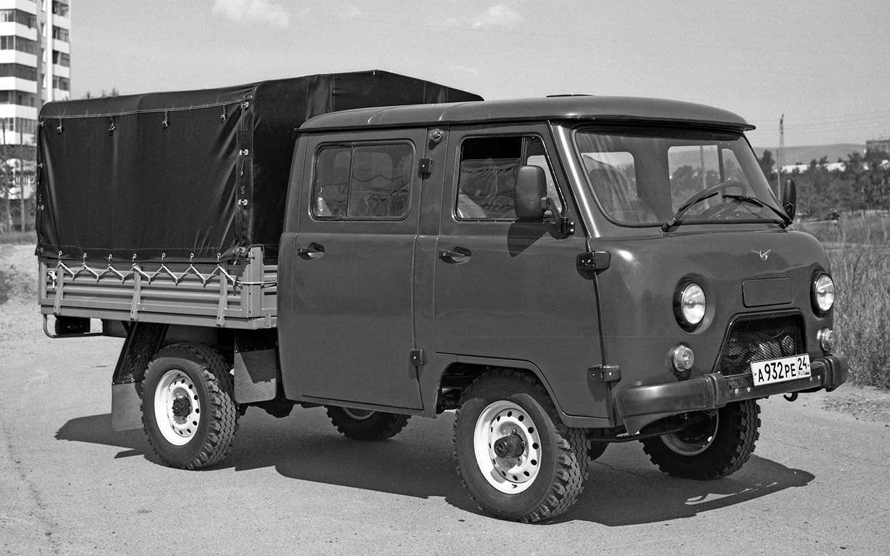 Вкус «буханки»: полная история УАЗ-450— фото 1269686