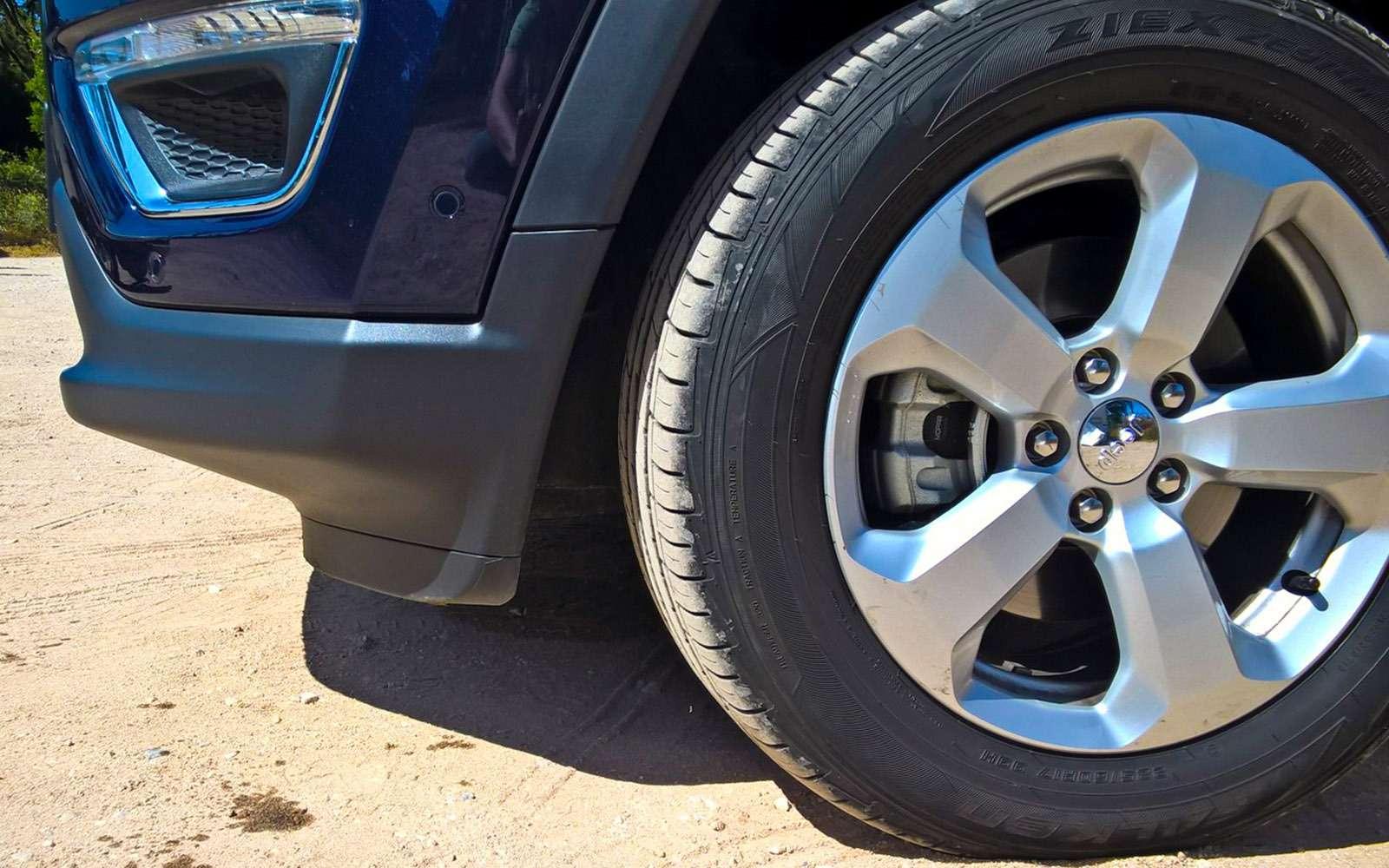 Новый Jeep Compass— тест-драйв ЗР— фото 778114