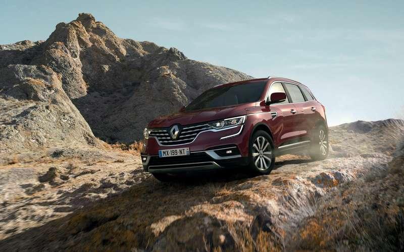 Обновленный Renault Koleos— первые подробности ифото