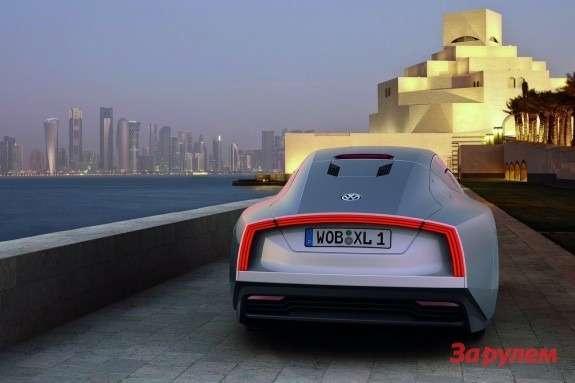 Volkswagen XL1 Concept rear view