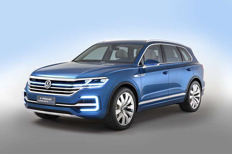 Volkswagen T‑Prime Concept GTE:<span id=