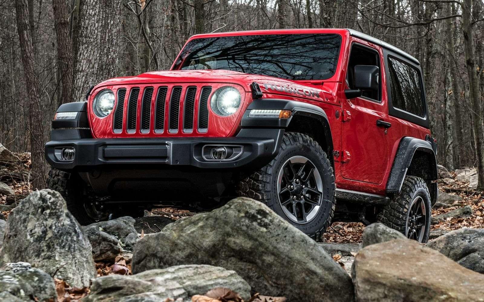 Новый Jeep Wrangler вРоссии: цены икомплектации— фото 896592