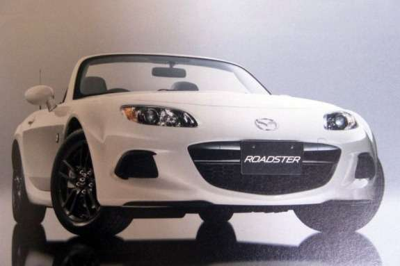 Mazda MX-5NC3 side-front view