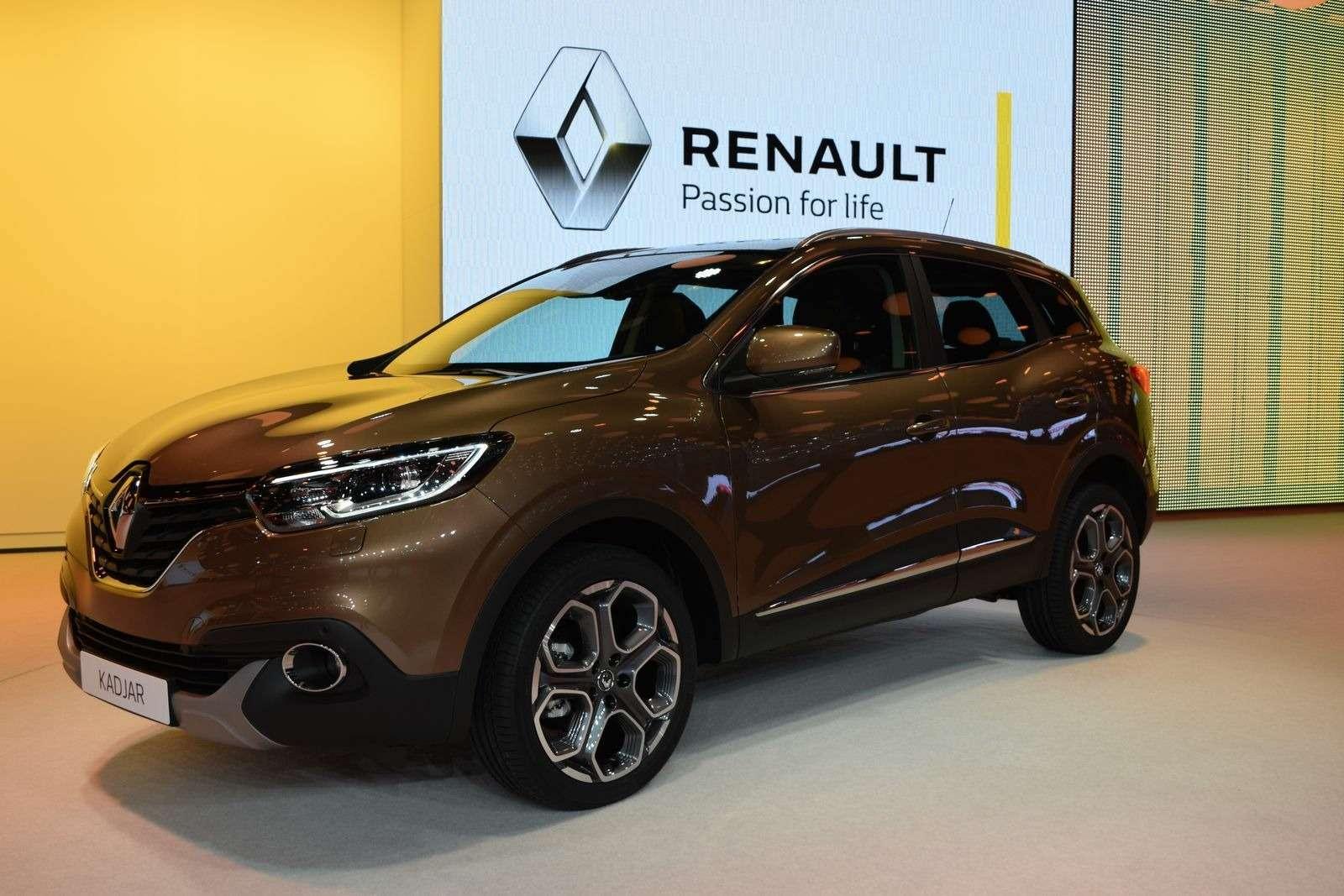 Renault Kadjar представили наавтошоу— фото 369629
