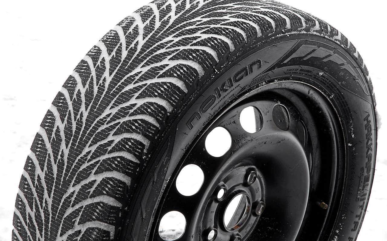 Нешипованные шины длямашин гольф-класса— большой тест ЗР— фото 807223