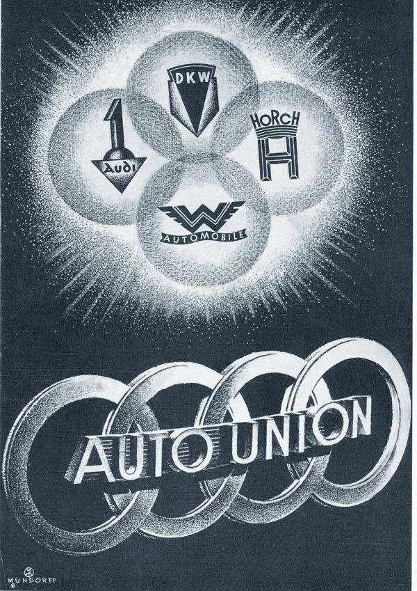 75Jahre Vier Ringe/Fusion der Marken Audi, DKW, Horch und Wanderer am29. Juni 1932