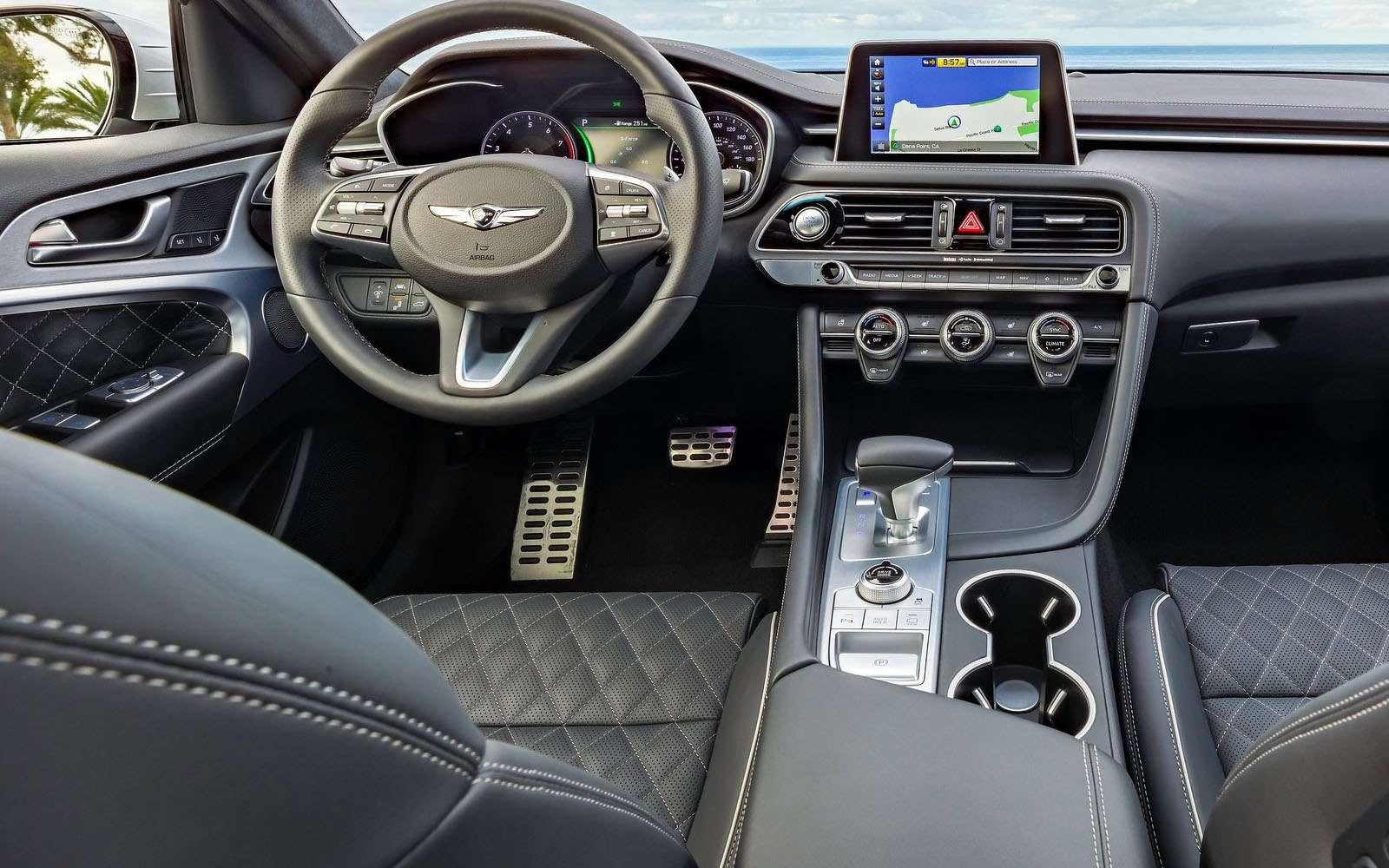 Корейский соперник «трешки» BMW вРоссии оказался дешевле конкурентов— фото 862170
