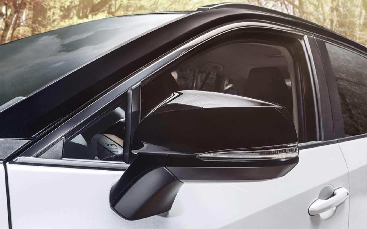 Новая версия Toyota RAV4: теперь двухцветная - фото 1172741