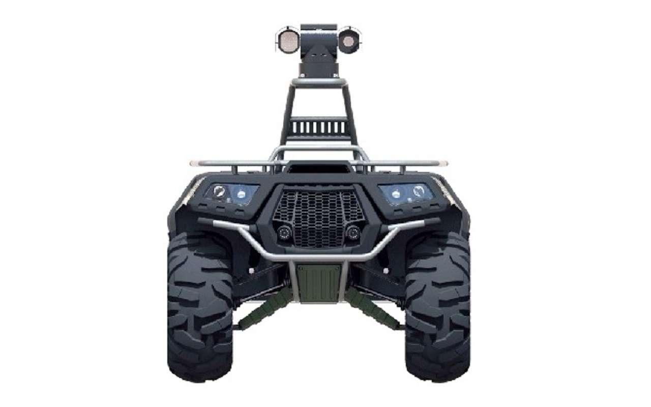 Валли намаксималках: вРоссии создали охранно-патрульного робота— фото 1125702