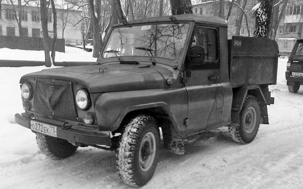 «Козлик» УАЗ-469— таких модификаций выточно не видели!— фото 978722