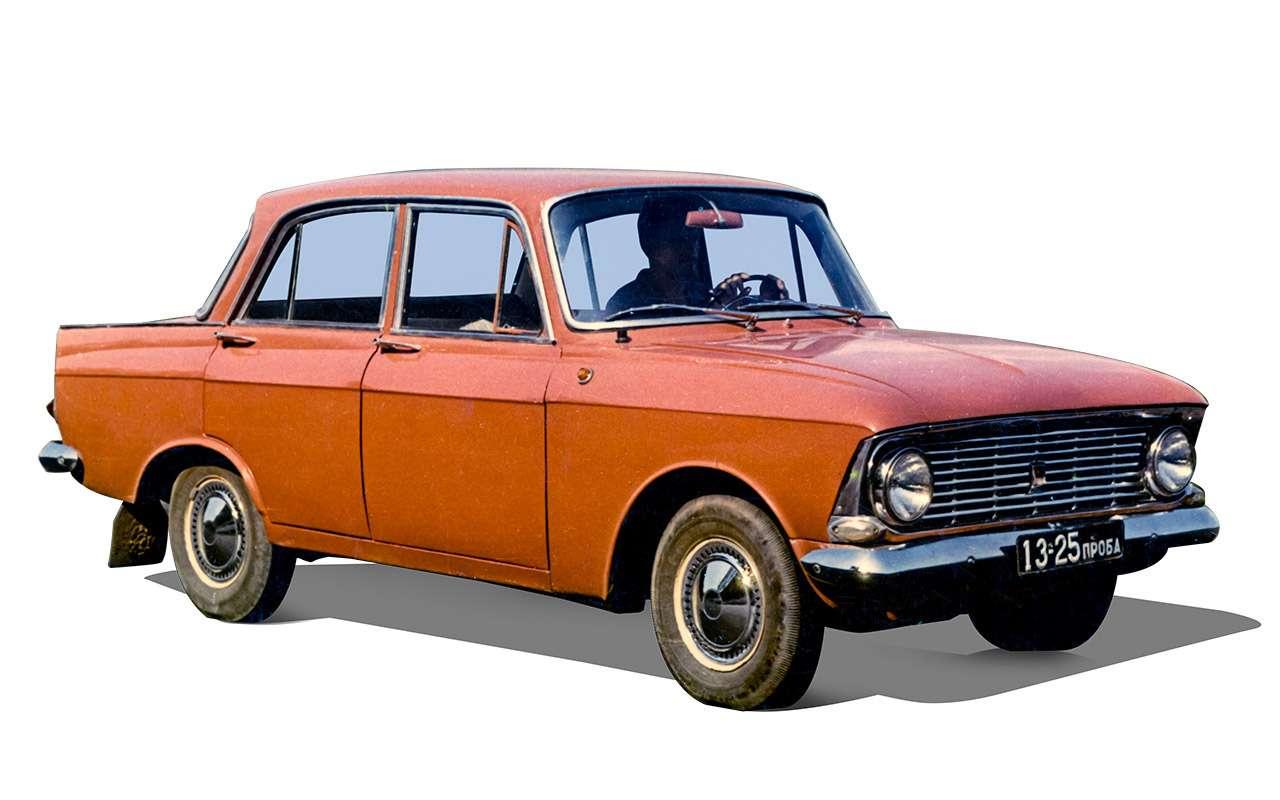 Fiat? BMW? Opel? — с чего срисовали Москвич-408/412 — фото 1083222
