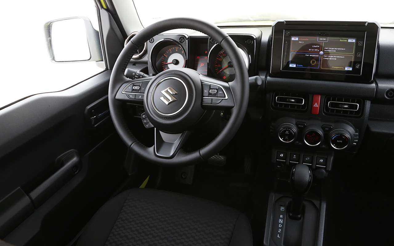 Новый Suzuki Jimny— тест вовсех подробностях— фото 993050